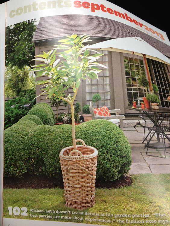 Great idea! Love the wicker basket!