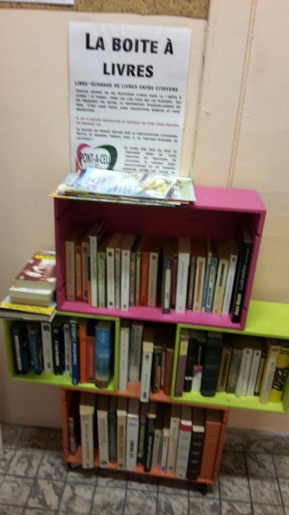 Boite à livres Pont-à-Celles 3
