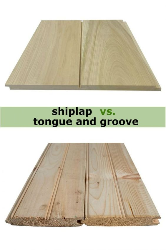 What S The Difference Shiplap Vs Tongue And Groove Tongue And Groove Walls Tongue And Groove Shiplap Wall Diy
