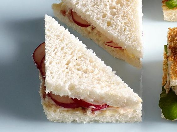 50 Tea Sandwiches: Radish-Anchovy Tea Sandwich