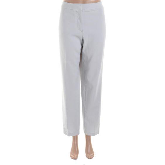 Dylan Gray Womens Crepe Straight Leg Dress Pants