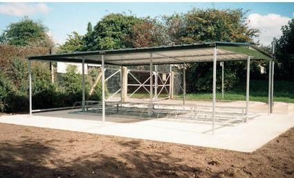 Double Sided Cycle Bike Bicycle Shelter