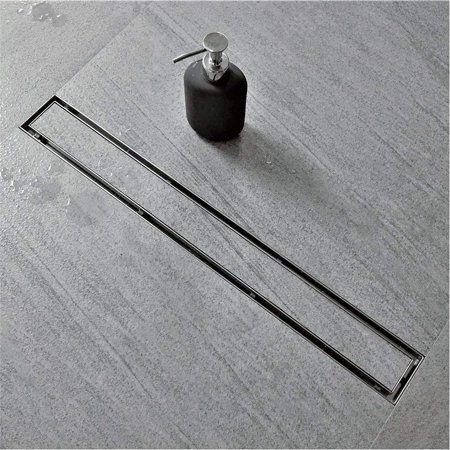 Neodrain 60 Inch Linear Shower Drain With Tile Insert Grate