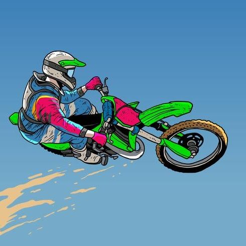 Stunt Dirt Bike It S A Free Online Racing Game Brought To You At