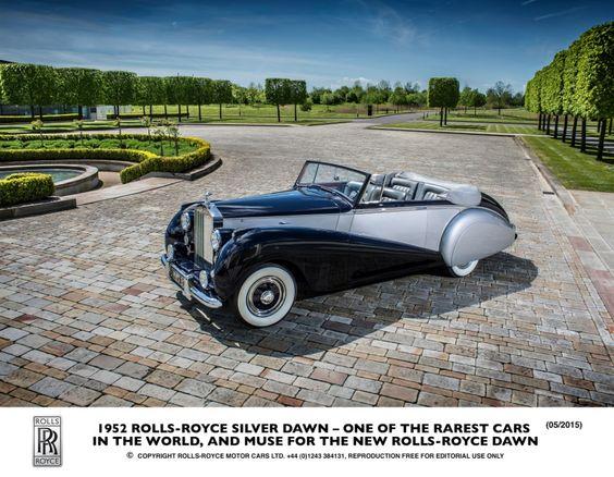 Rolls-Royce dévoile son nouveau cabriolet : la Rolls-Royce Dawn
