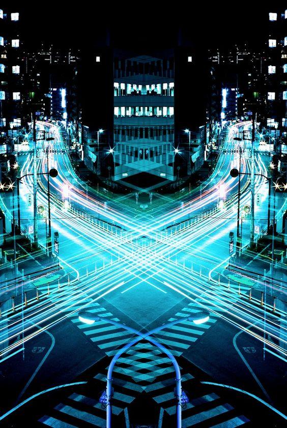 Magnificent Mirror Symmetry of Long Exposures in Japan - My Modern Metropolis