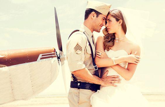 Airplane Bridal Story