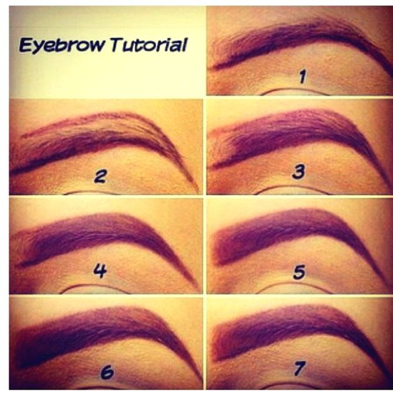 How to pencil in your brows