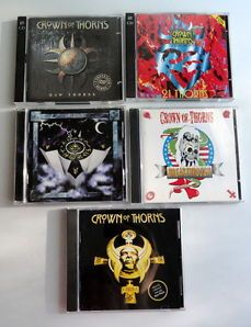 Lot Of 5 CD's By Crown Of Thorns - Karma, Breakthrough, 12 Thorns and More.