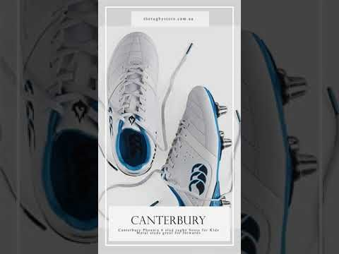 Canterbury 6 Metal Studs Rugby Boots For Kids Rugby Boots Rugby Union Rugby Players