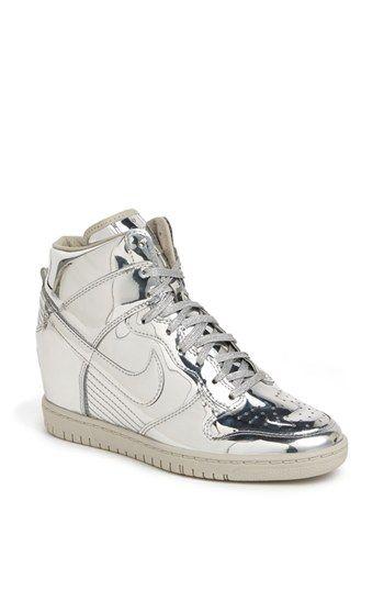 Nike 'Dunk Sky Hi' Hidden Wedge Sneaker (Women) available at #Nordstrom in fucking love