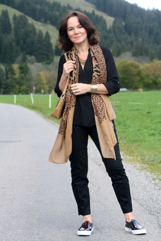 Black and Leopard | Lady of Style