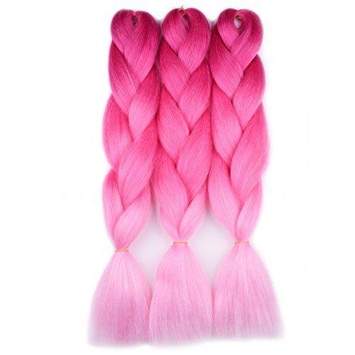 17++ Hot pink braiding hair ideas