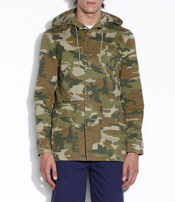 i'm looking for a camouflage jacket... anyone?