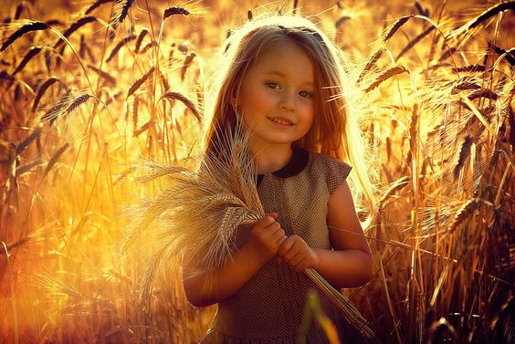 Photo Girl in a wheat field by Brusenskii on 500px
