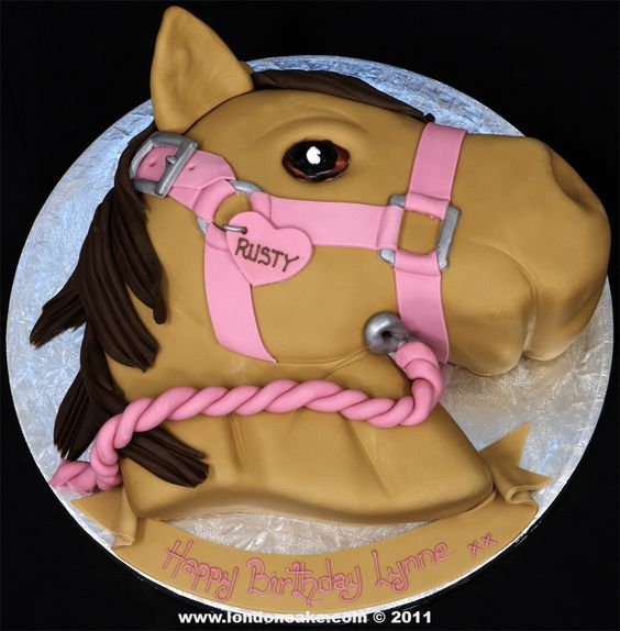 Horse Head Cake Design Kudoki for
