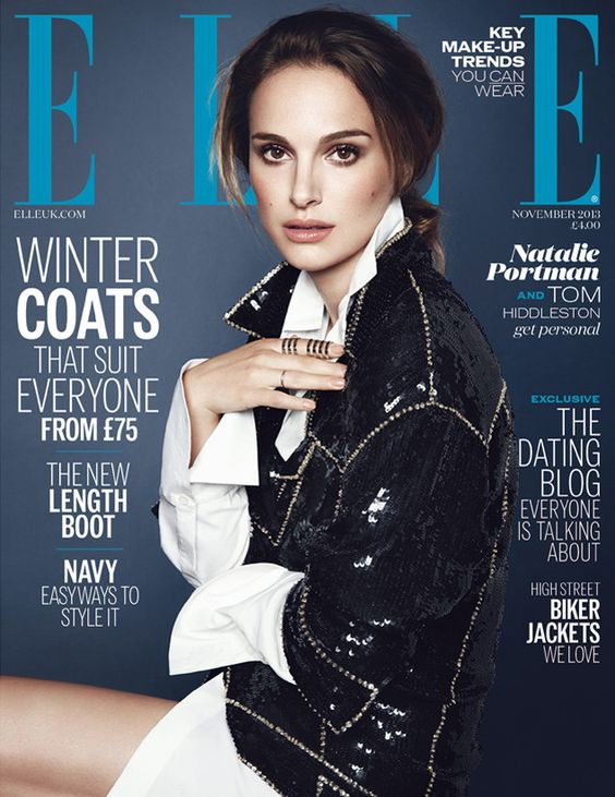 Natalie Portman, Elle UK. can I just say that she is the most beautiful female on earth. well her and Olivia Wilde.