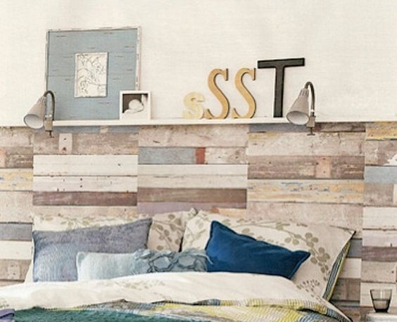 Ideas para hacer cabeceros originales y baratos - Hacer cabecero cama barato ...