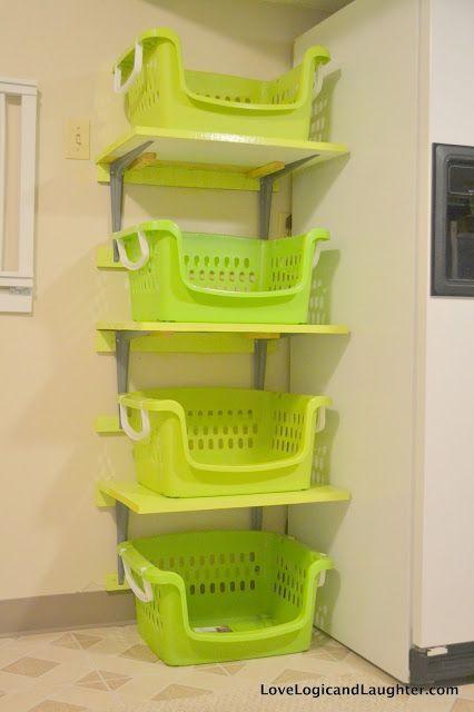 Storage Baskets Rak Baju Ruang Cuci Rak
