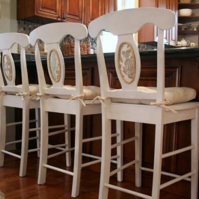 Upholster Chair Backs with Foam Board {upholstery}