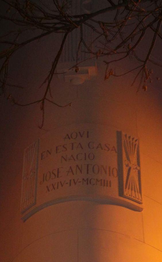 La casa donde nació Primo de Rivera. Nunca van a quitar estas cosas.