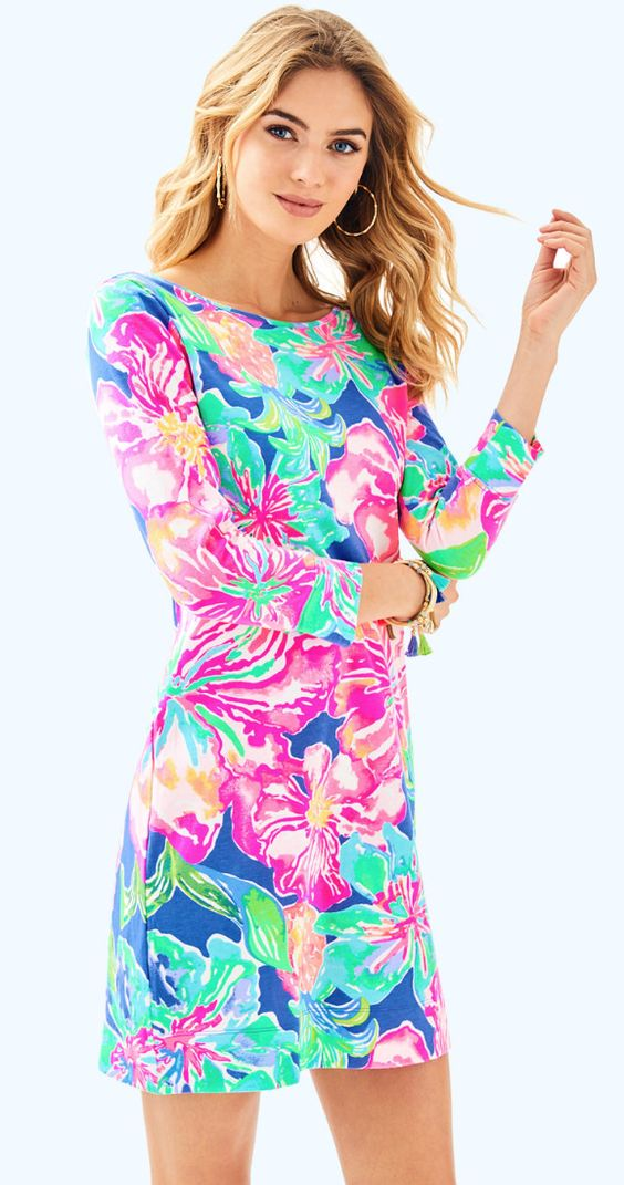 Jungle print t-shirt dress