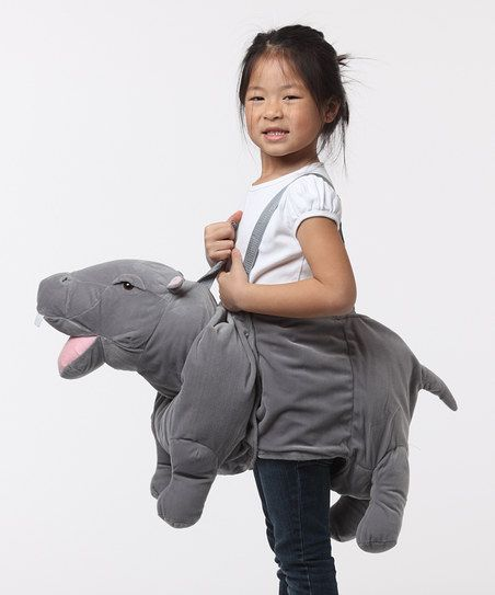 Hippo Wrap & Ride Dress-Up Outfit