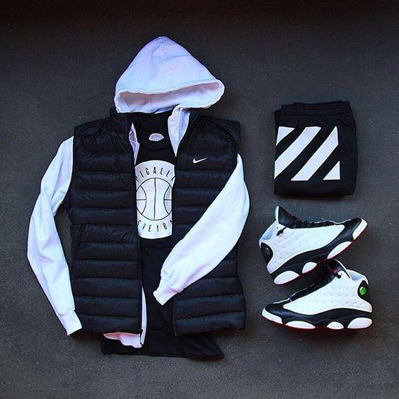 Outfit grid - Streetwear