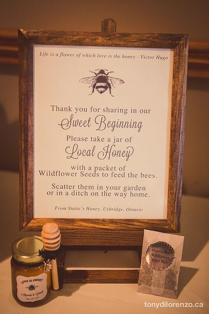 When we first started talking about wedding favors there were lots of ideas that came to mind. We wanted something local, that was a treat and allergen-free. That's when the idea of local hon…