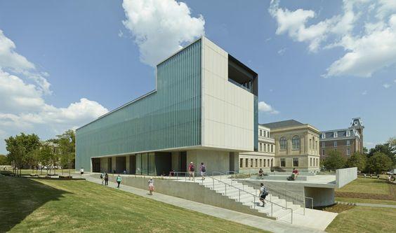 Centro de Diseño Vol Walker Hall & the Steven L Anderson / Marlon Blackwell Architect