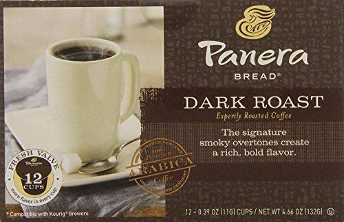 Panera Bread Coffee Box Panera Bread Kcup Single Serve Coffee 12 Count 508Oz Box Pack