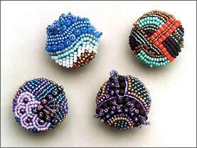 Love beaded buttons!
