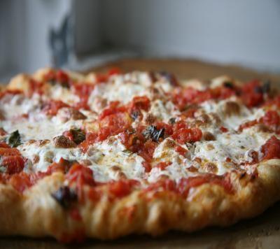 how to make pizza dough lidia