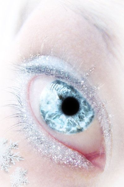Snow queen, Snow and Eyes on Pinterest Human Ice Blue Eyes