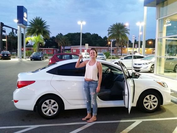 "Kayli, thank you for coming to Lakeland Hyundai to purchase your 2015 Hyundai Accent! Kayli worked with Kenny Swartz during this exceptional experience commenting that ""Kenny did an excellent job with us today! I am a VERY happy customer, all smiles :)"" We hope you are enjoying your brand new Accent and please, if there's anything we can do, don't hesitate to ask... we're here to help! #LakelandAutomall #LakelandHyundai #HyundaiAccent #2015Accent #Hyundai"