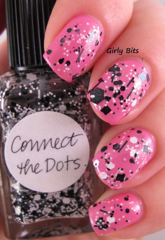 Girly Bits: Lynnderella Connect the Dots over OPI Shorts Story