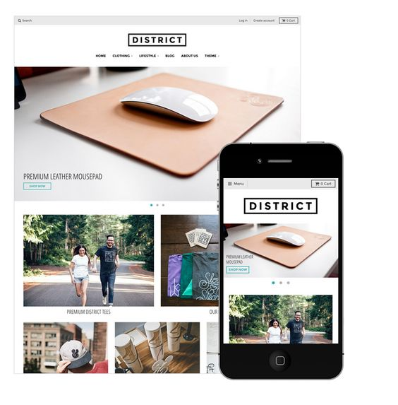 25 Shopify theme for Your Online Store