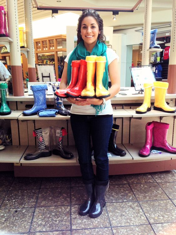 Bailye in her #BlackLiners and #ClearBoots by #TwoAlity! Only 2 days left to come see us at the #ComoMall.  www.thetwoalitystore.com