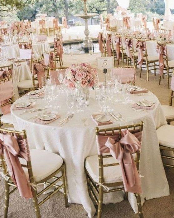 Bouncing Ideas Off Of The Fiance Bae Wedding Rosegold Weddingcolors Weddingsetup Weddin Rose Gold White Wedding Rose Gold Wedding Decor Rose Gold Table