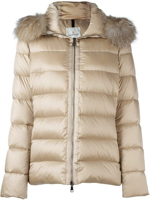 MONCLER 'Tatie' Padded Jacket. #moncler #cloth #jacket