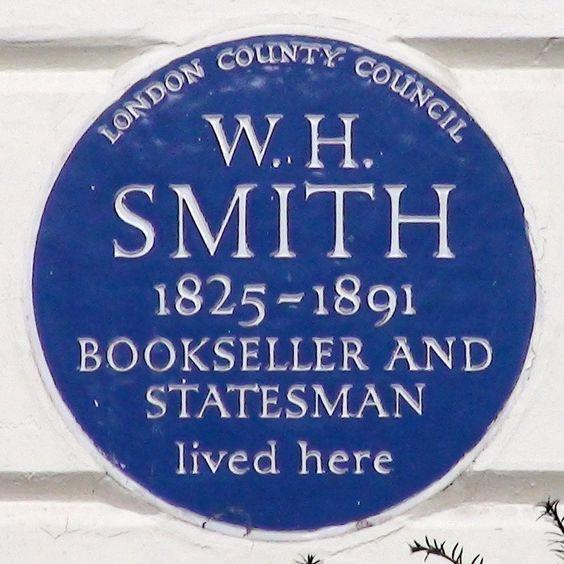 W. H. Smith plaque