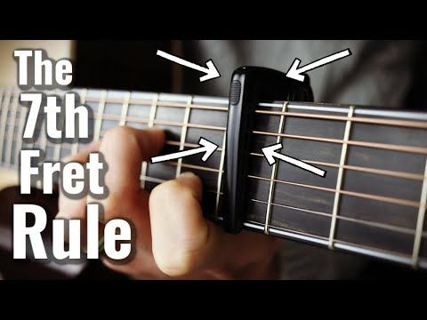 This Is Why I Love The Guitar Capo On Fret Vii Youtube In 2020 Guitar Capo Guitar Strumming Music Theory Guitar