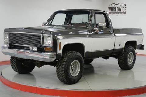 1976 Chevrolet C K 10 Series For Sale In Denver Co Chevrolet Trucks Chevrolet Chevy K10