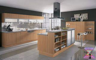 احدث موديلات مطابخ صغيرة مودرن 2020 Beautiful And Modern Kitchens Kitchen Cabinets Brands Modern Family Kitchen Kitchen Cabinets For Sale