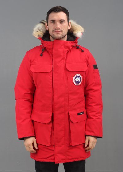 Canada Goose parka online store - Citadel Parka Jacket Red - Outerwear from Triads UK | CANADA GOOSE ...