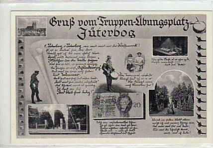 Jüterbog, historische Ansichtskarte