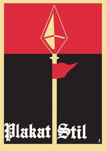 Réaliser une affiche en s'inspirant du Plakatstil // Xavier Urity e-artsup paris // 2010