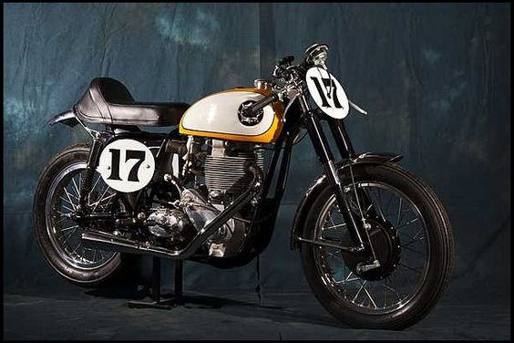 T155 1956 BSA Gold Star Ex-Daytona Racer  Photo 1