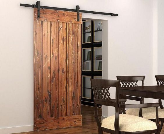 Sliding Barn Door Hardware Sliding Track Black Rustic Barn Door Hardware from Diyhd,$67.02 | DHgate.com