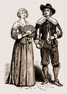 Le costume sous Louis XIII